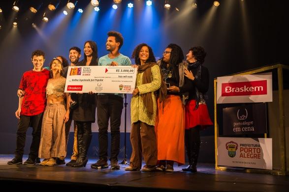 Porto Alegre, RS - 21/09/2015 Prêmio Brasken em cena Foto: Mariano Czarnobai/Divulgação PMPA